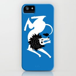 Dancing Beasts: Lion iPhone Case
