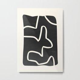 abstract minimal 61 Metal Print