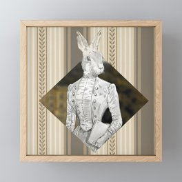 Miss Lagomorph Framed Mini Art Print