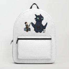 Hungry Toothless Backpack