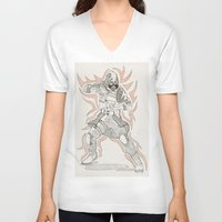 vector V-neck T-shirts featuring Vector by Dukewow Nukemwow