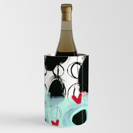 Falling Hearts Wine Chiller