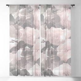 Rose Garden Soft Color Tone #decor #society6 #buyart Sheer Curtain