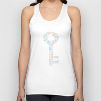 key Tank Tops featuring Key by Matisse Lin