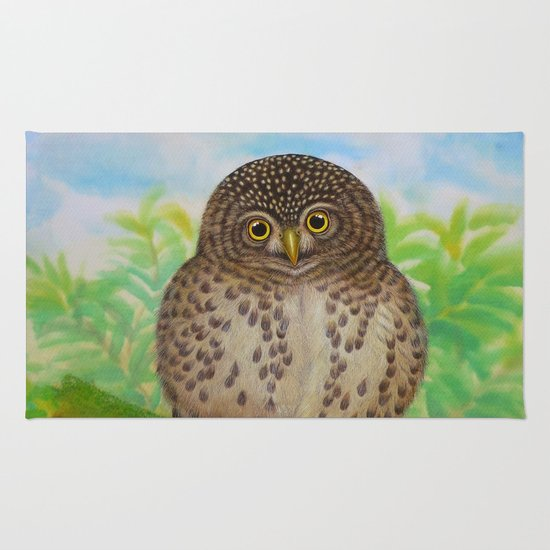 Collared Owlet Rug