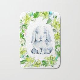 Bunny Baby Bath Mat