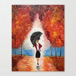 """""""Red Rain"""" Canvas Print"""