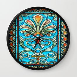 CRYPT GLASS Wall Clock