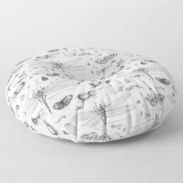 Braf insects Floor Pillow