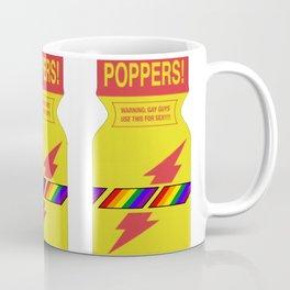 Rainbow poppers LGBT GAY PRIDE MONTH Coffee Mug
