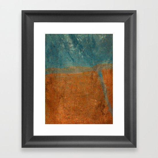 Influx Framed Art Print