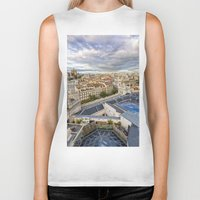 madrid Biker Tanks featuring Madrid by Solar Designs