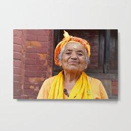 Portraits of Pashupatinath I Metal Print