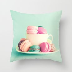 Yummy Cup Throw Pillow