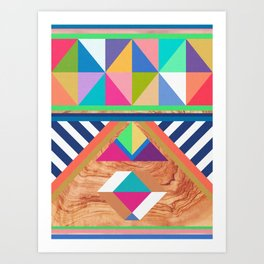 WOODY II Art Print