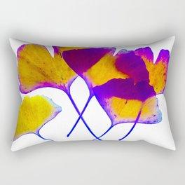 ginkgo biloba leaves Rectangular Pillow