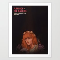 Florence+The Machine Art Print