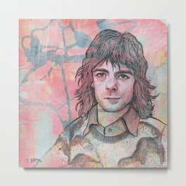 Rick Wright - Comfortably Numb Metal Print