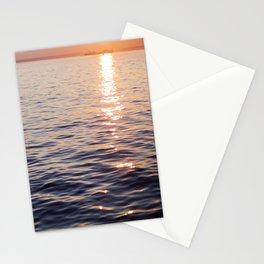 Puget Sound Sunset Stationery Cards