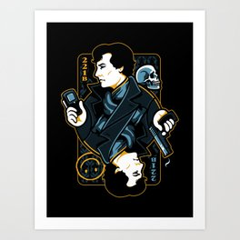 The Detective of 221B Art Print