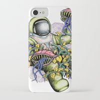 spaceman iPhone & iPod Cases featuring SPACEMAN by • PASXALY •