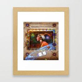 "Shiraz ""The Peacock Throne"" Framed Art Print"