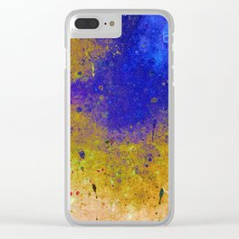 Ink Intrusion Clear iPhone Case