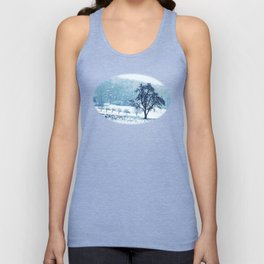 Old pear tree (cool edition) Unisex Tank Top