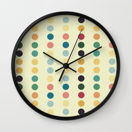 Dot Spot Wall Clock