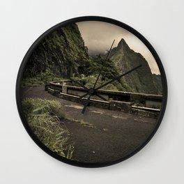 Pali Pass Wall Clock
