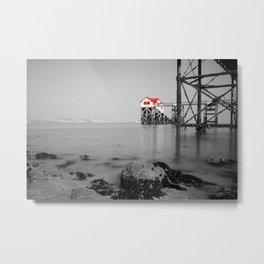 Mumbles Lifeboat Station Metal Print