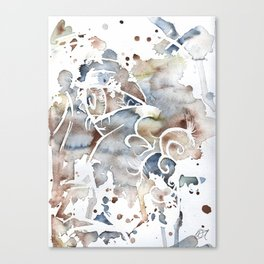 Exit Wound Canvas Print