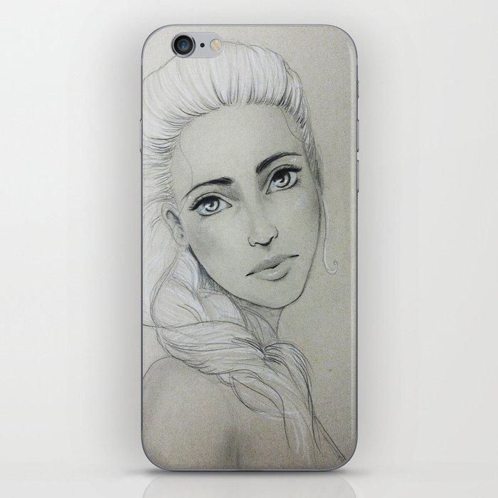 Young Woman iPhone Skin
