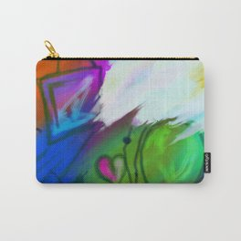Abstract Mess Carry-All Pouch