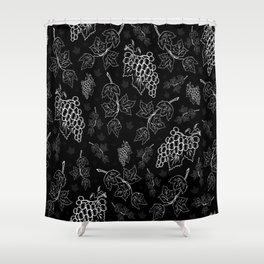 Grape background Shower Curtain