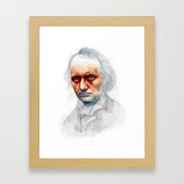 Charles Baudelaire Framed Art Print