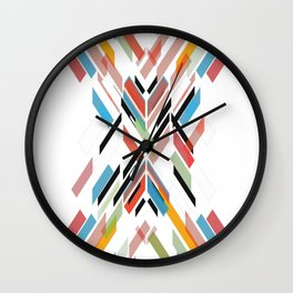Fractal-Pattern Wall Clock