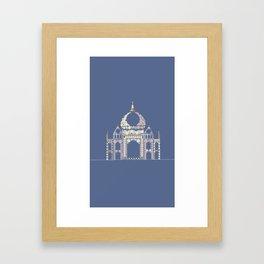 Taj Mahal Framed Art Print