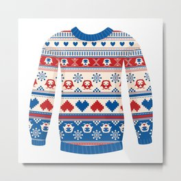 Cozy sweater Metal Print