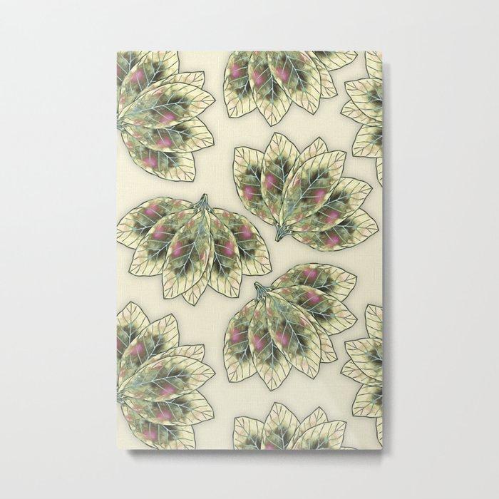 Colorful Leaves 4 Metal Print