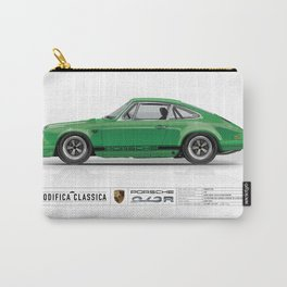 1967 Porsche 912R SIGNAL GREEN Carry-All Pouch