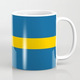 flag of sweden Coffee Mug