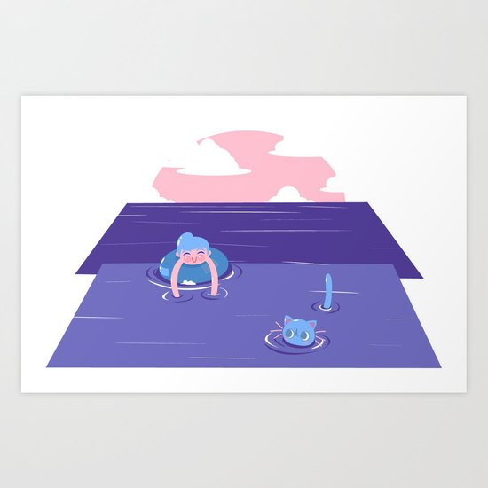 Memories of Summer Art Print