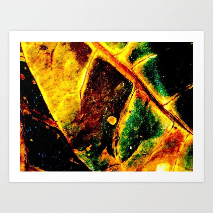 """""""Dying Leaf"""" Art Print"""