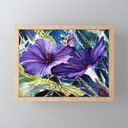 Flowers and nature Framed Mini Art Print