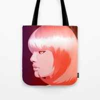 candy Tote Bags featuring candy by Denise Medina