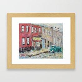 Harlem Blues Bar Framed Art Print