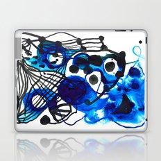 Paint 5 abstract minimal modern painting trendy bold painterly dorm college urban apartment decor Laptop & iPad Skin