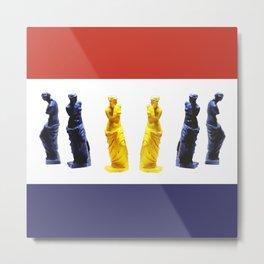 french venus colors Metal Print