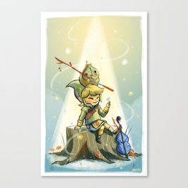 Forest Aria Canvas Print